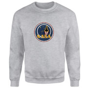 NASA JM Patch Sweatshirt - Grey