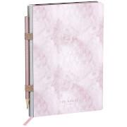 Ted Baker A5 Rose Quartz Notebook