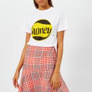 Ganni Women's Harway Honey Bee T-Shirt - White