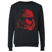 Star Wars Jedi Cubist Trooper Helmet Schwarz Damen Pullover - Schwarz
