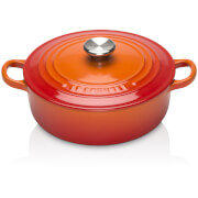Le Creuset Signature Cast Iron Risotto Pot - 22cm - Volcanic