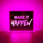 Mini LED Acrylic Box - Pink
