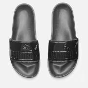 Puma Women's Leadcat Patent Slide Sandals - Puma Black