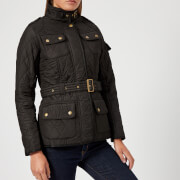 Barbour International Women's Tourer Polarquilt Jacket - Black