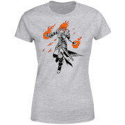 Camiseta Magic The Gathering Chandra - Mujer - Gris