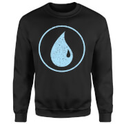 Magic The Gathering Mana Blau Pullover - Schwarz