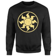 Magic The Gathering Mana Weiß Pullover - Schwarz
