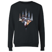Magic The Gathering Key Art With Logo Women's Sweatshirt - Black