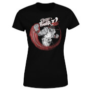 Street Fighter RYU Sketch Women's T-Shirt - Black