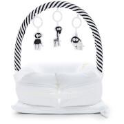 Sleepyhead Mobile Toy Arch - Black/White Stripe