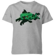 Camiseta Nintendo Donkey Kong Silueta - Niño- Gris