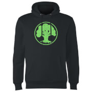 Magic The Gathering Mana Green Hoodie - Black