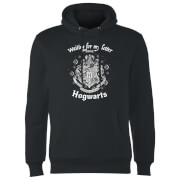 Harry Potter Waiting For My Letter From Hogwarts Hoodie - Black