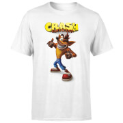 Crash Bandicoot Thumbs Up Men's T-Shirt - White