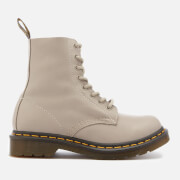 Dr. Martens Women's 1460 Virginia Leather Pascal 8-Eye Boots - Taupe