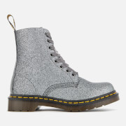 Dr. Martens Women's 1460 Glitter Pascal 8-Eye Boots - Pewter