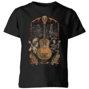 Coco Guitar Poster Kids' T-Shirt - Black