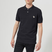PS Paul Smith Men's Short Sleeve Zebra Polo Shirt - Navy