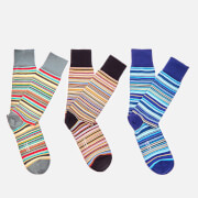 PS Paul Smith Men's Sock Pack - Multi Stripe