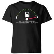 Daughter Fuel Full Kids' T-Shirt - Black