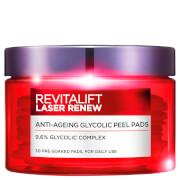 L'Oréal Paris Revitalift Laser Glycolic Peel Pads x 25 Pads