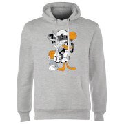 Space Jam Bugs And Daffy Time Squad Hoodie - Grey