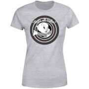 Looney Tunes That's All Folks Porky Pig Women's T-Shirt - Grey