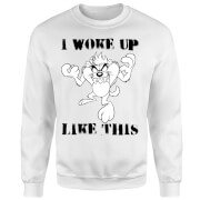 Looney Tunes I Woke Up Like This Sweatshirt - White