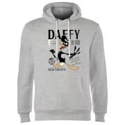 Sweat à Capuche Homme Concert Daffy Looney Tunes - Gris