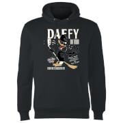 Sweat à Capuche Homme Concert Daffy Looney Tunes - Noir