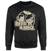 Beer & BBQ Sweatshirt - Black