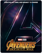 Avengers: Infinity War 3D (Inkl. 2D Version) - Zavvi UK Exklusives Limited Edition Steelbook
