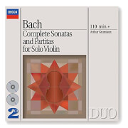 Bach: Complete Sonatas & Partitas For Solo Violin Vinyl