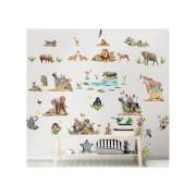 Walltastic Jungle Safari Room Decor Kit
