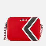 Karl Lagerfeld Women's K/Stripes Bag - Red