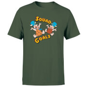 The Flintstones Squad Goals Men's T-Shirt - Forest Green