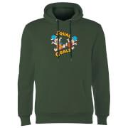 The Flintstones Squad Goals Hoodie - Donkergroen