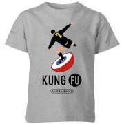 T-Shirt Enfant Subbuteo Kung Fu - Gris