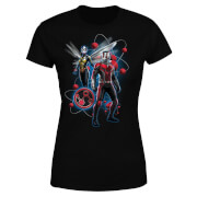 Ant-Man And The Wasp Particle Pose Women's T-Shirt - Black