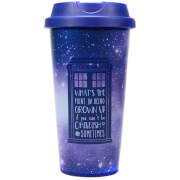 Dr Who Galaxy Travel Mug