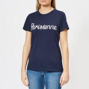 Maison Kitsuné Women's Par Perm Parisienne T-Shirt - Navy