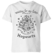 Harry Potter Waiting For My Letter From Hogwarts Kids' T-Shirt - White