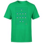 T-Shirt Homme Équipe de Baby Foot France Football - Vert Foncé