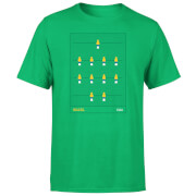 Brazil Fooseball Men's T-Shirt - Kelly Green