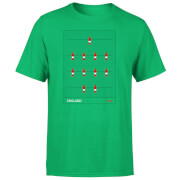 England Fooseball Men's T-Shirt - Kelly Green