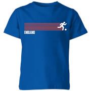 T-Shirt Enfant Équipe Anglaise Football - Bleu Roi