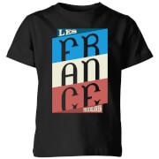 T-Shirt Enfant Les Tricolores - Noir