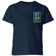 My Little Rascal Vitamin Sea Kids' T-Shirt - Navy