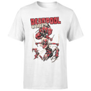 T-Shirt Homme Deadpool Family Corps Marvel - Blanc