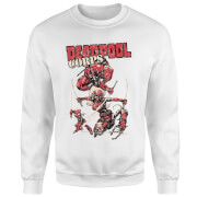 Marvel Deadpool Family Corps Sweatshirt - White
